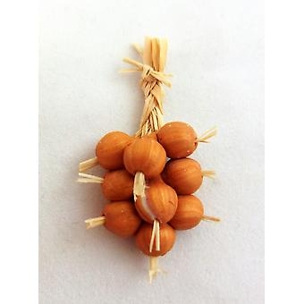 Dolls House Hand Made Greengrocers Shop Kitchen Accessory Rope String Of Onions