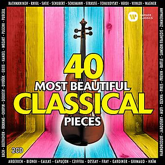 Various Artist - 40 Most Beautiful Classical Pieces [CD] USA import