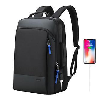 Expandable Weekend Work Travel Back Pack Male Waterproof 15.6 Inch Laptop Anti