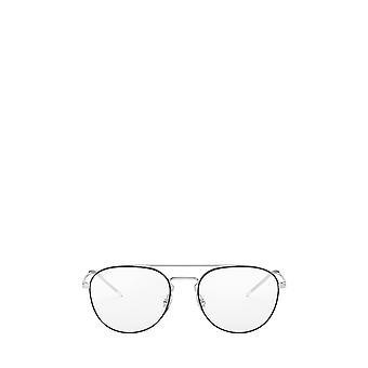 Ray-Ban RX6414 musta hopea unisex silmälasit