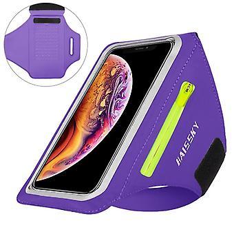 רוכסן ריצה ספורט רצועות זרוע עבור Airpods - פרו חגורה יד פאוץ' עבור iphone