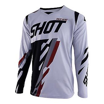 Shot Contact Score Grey Adultes MX Jersey