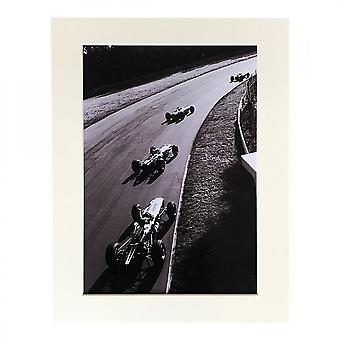 Larrini Monza 1965 Grandprix A4 Mounted Photo