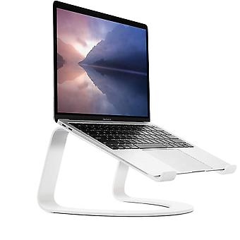 Twelve South Curve for MacBooks and Laptops   Ergonomic desktop cooling stand, white