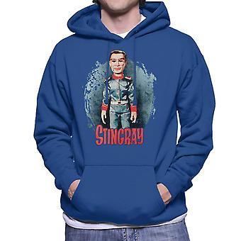 Stingray George Phones Sheridan Without Hat Men's Hooded Sweatshirt