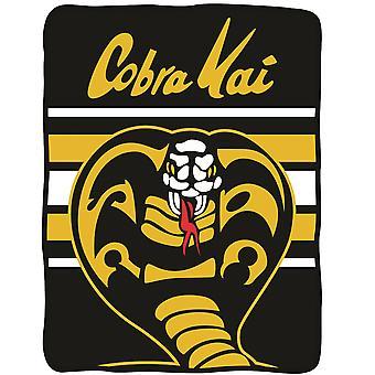 Cobra Kai Logo Throw Blanket