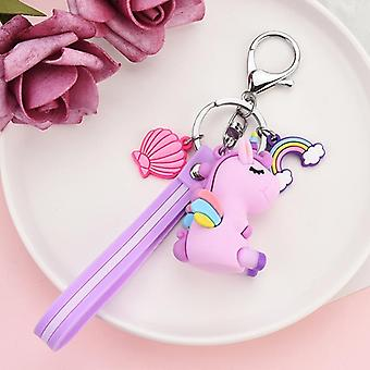 Creative Fly Horse e design Moda Animali Giovani Color Keyring