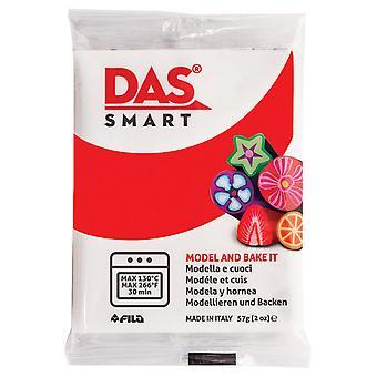 DAS 321015 Smart Oven-Bake Clay 57g (2x 28.5g) Scarlet Red