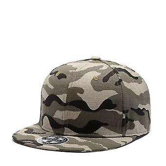 Camouflage Baseball Cap, Military Snapback Hats. 100% Cotton Hip Hop Hats