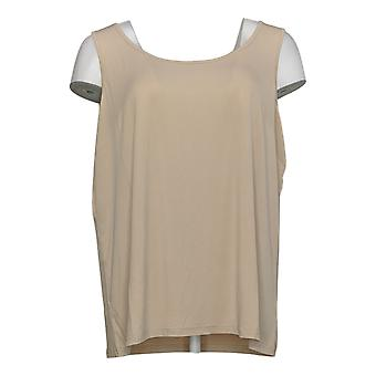Linea Por Louis Dell'Olio Women's Top Knit Tank Bege A304658