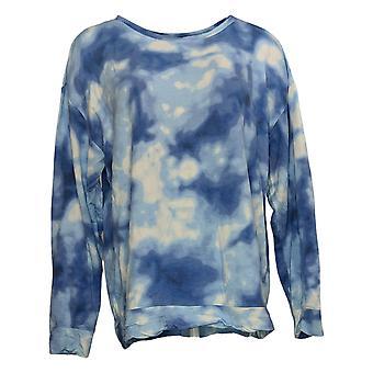 All Worthy Hunter McGrady Women's Pullover Sweatshirt Blue A387047