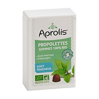 Organic Tender Gums Propolettes Propolis Freshness 50 g