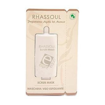 Rhassoul - exfoliating face mask (single dose) 10 ml