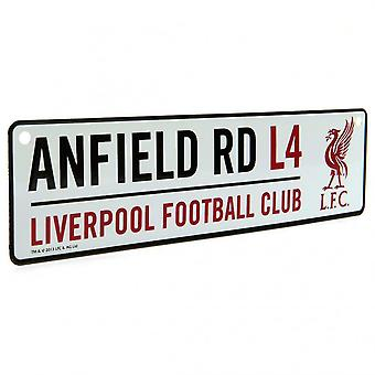 Liverpool FC Anfield Window Sign