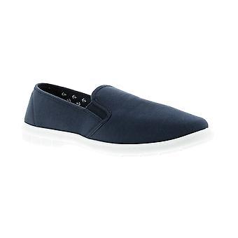 Dr Keller wise Mens Canvas Shoes navy UK Size