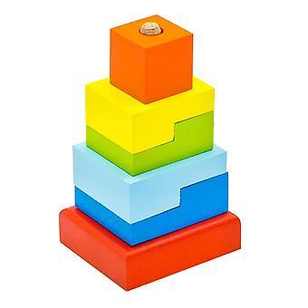 "Alatoys Holzpyramide ""Schritte"""
