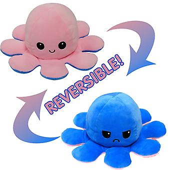 Reversible Octopu Doll - Double-sided Flip Plush Toy