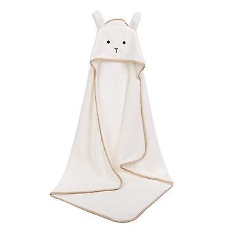 Baby Poncho, Bebe Toalla Velvet 90*90cm Fleece Hood Infant Towels