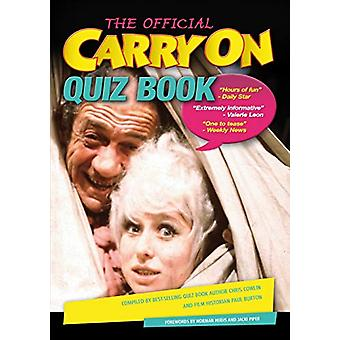 The Official Carry on Quiz Book by Chris Cowlin - 9781785384813 Book
