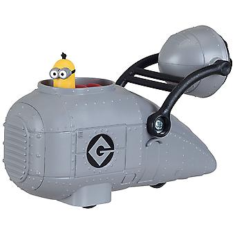 Despicable me gru's vehicle with minion