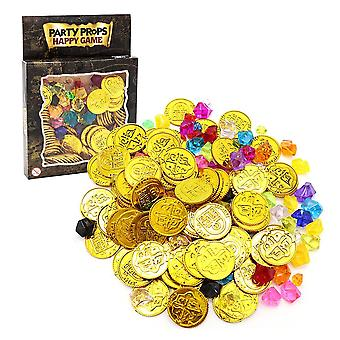 Simulation Promotions Lottery Props Gold Coins For (multicolor)