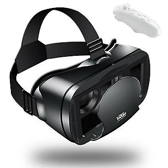 Etvr 3d movies games glasses vr  google cardboard immersive virtual reality headset with controller fit 5-7 inch smart phone