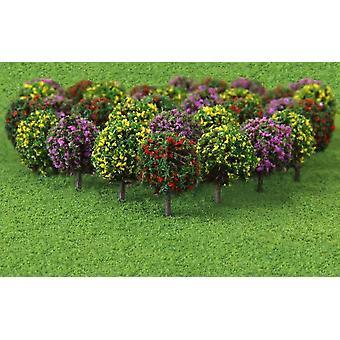 Kukka malli juna puut pallo muotoinen maisemat