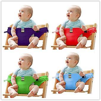 Dětská židle Travel Infant Dining Cover Bezpečnostní pásy