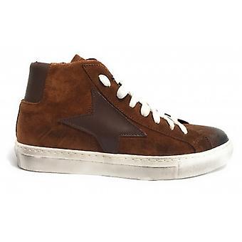 Shoes Men's Tony Wild Sneaker High Suede Col. Vintage Star Nut U18tw25