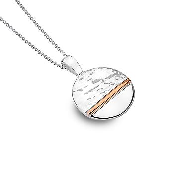 Sterling Silver Pendant Necklace - Origins Horizon + Gold Plated