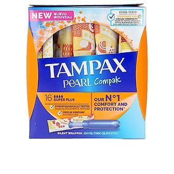 Tampax Tampax Pearl Compak Tampón Super Plus 16 Uds dla kobiet