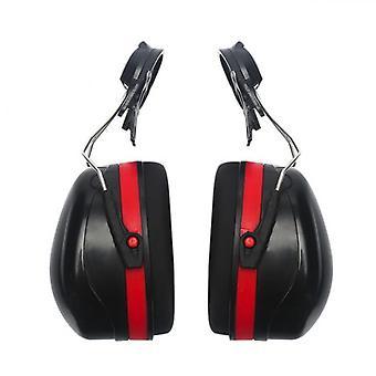 Hard hat montering øreklokker cap støyreduksjon dekker støyreduserende hjelm avtakbare forsvarere