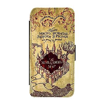 Harry Potter Marauder''s Map Samsung Galaxy A32 5G Wallet Case