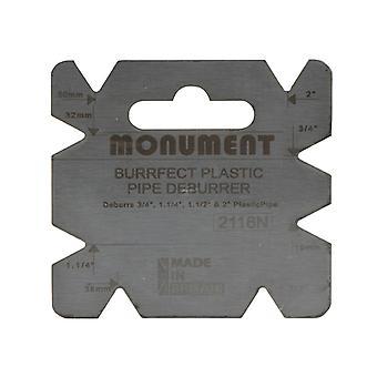 Monument 2116N Burrfect Square De-Burrer MON2116