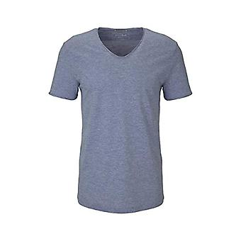 TOM TAILOR Denim 1024869 Basic T-Shirt, 15655-Shiny Royal Non Solid, XL Men's