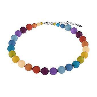 Adi Bigiotteria Polaris necklace 'Mayla', classic ball chain in original Italian Polaris pearls, handmade in Berlin Ref. 4251188644876