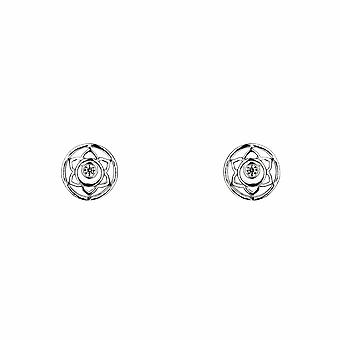 Sacral Chakra / Swadhisthana Earrings - Silver - Jewellery Gifts for Women from Lu Bella