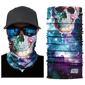 Sluneční maska různé vzory uv ochrana ručník šátek krk cyklistika