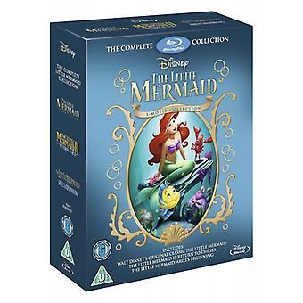 The Little Mermaid Triple Boxset 1 2 & 3 Blu-ray