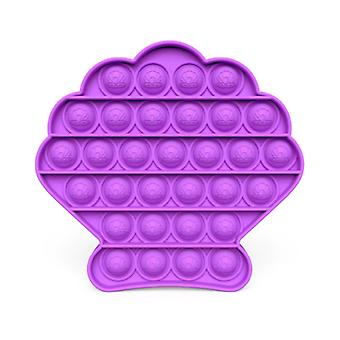 Stuff Certified® Pop It - Fidget Anti Stress Toy Bubble Toy Silicone Shell Purple