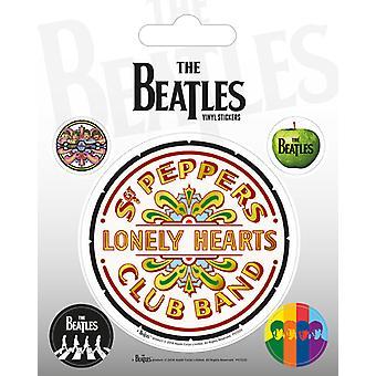 The Beatles - Sgt. Peper Vinyl Sticker