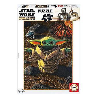 Puzzle Educa Baby Yoda (1000 Stück)