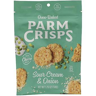 Parm Crisps Crisp Parm Sr Crm Oignon, Boîtier de 12 X 1,75 Oz