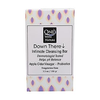 One With Nature Down There Fragrance Free Intimate Cleansing Bar