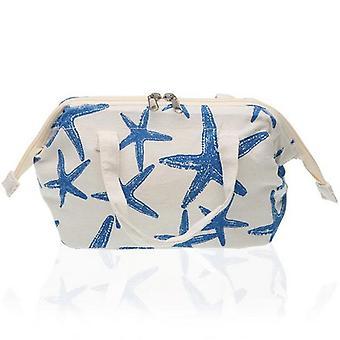 Viileä laukku sininen meri