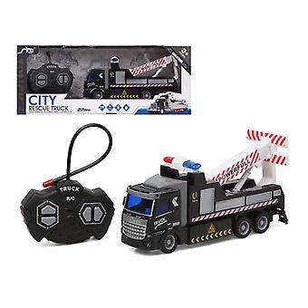 شاحنة سوداء يتم التحكم فيها لاسلكيا