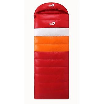 Mimigo Outdoor Sports Sleeping Bag Waterproof Indoor Use For Kids, Teens & Adults For Hiking And Camping With Warm Duck Down Inside Multi Weights