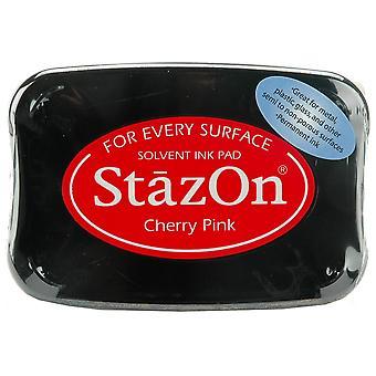 StazOn Solvent Ink Pad - Cherry Pink