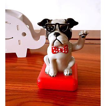 Robotleksaker magiska soldansande hundar svängande bobble leksak sm164080