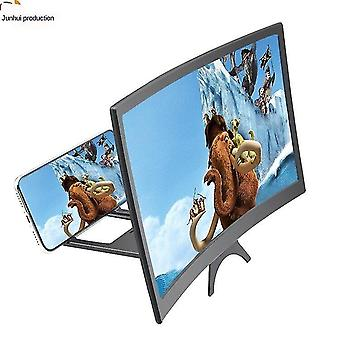 Satellite phones curved screen phone screen amplifier folding curved phone hd projection zoom